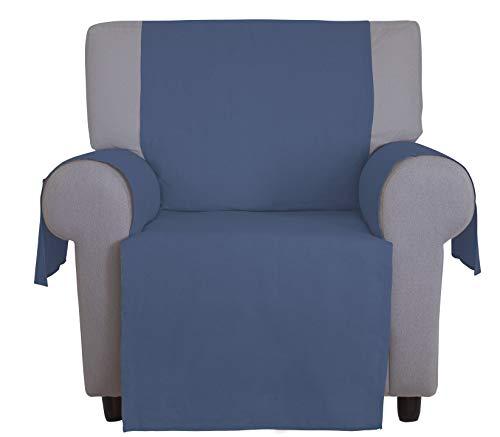 Cotton & color arredo salvadivano, tela, azzurro, 225x174x0.5 cm (3 posti)