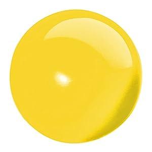 Erzi Silla de Oficina Pelota de Ejercicio Terapia Yoga Bola de Formación de la Bola de Pilates 16cm Amarillo