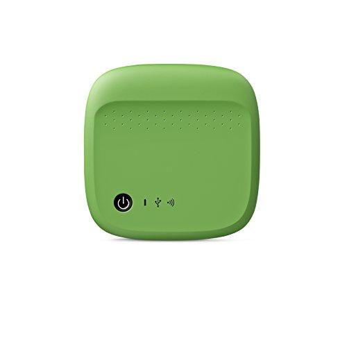 Seagate STDC500401 500GB drahtlose Externe Portable Festplatte grün