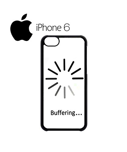 Buffering Slow Lazy Joke Swag Mobile Phone Case Back Cover Hülle Weiß Schwarz for iPhone 6 White Schwarz