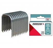Arrow - ARROW - Boîte de 1000 agrafes T37 12 mm