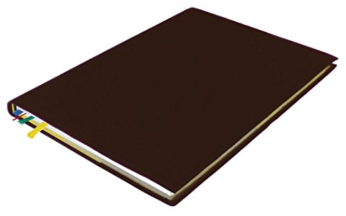 Kalenderhülle für TimeTex System-Schulplaner A4-Plus – Leder – Schwarz – Ledereinband für Schulplaner – Lederhülle für Timer – 30891