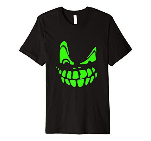 (Halloween Kürbis Gesicht Kostüm T Shir)