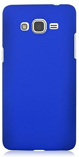 free shipping 4dcc7 98246 Johra Hard Plastic Rubberised Back Cover for Samsung Galaxy On7 Pro Back  Cover - Dark Blue
