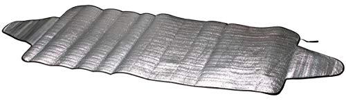 CarComfort Auto PKW Eisfolie, Sonnenschutz Folie Gr. S 200x70 cm, EPE Beschichtung, Thermo Scheibenabdeckung, Frontscheiben Abdeckung