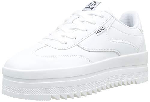 MTNG Attitude 69550, Zapatillas para Mujer, (Action PU Pattent Blanco C45200), 39 EU