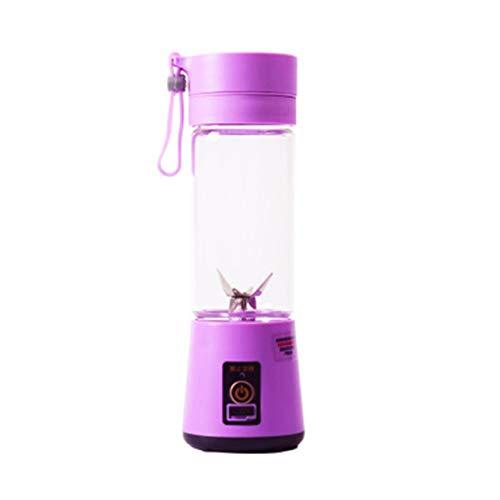 WOSOSYEYO Tragbare Größe USB Elektrische Fruchtpresse Handheld Smoothie Maker Mixer Wiederaufladbare Mini Tragbare Saft Tasse Wasser