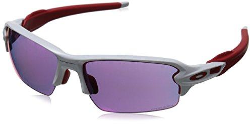 Oakley FLAK 2.0 Polished White Prizm Straße Sonnenbrille