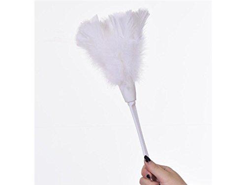 (annuor Künstliche Feder DUSTER Soft Duster von Möbel zu Fan Klingen der verschiedenen Tätigkeiten (weiß))
