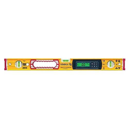 Preisvergleich Produktbild STABILA Elektronik-Wasserwaage Type 196-2 electronic IP 65, 100 cm, mit 2 Digital-Displays und Wasserwaagen-Tasche
