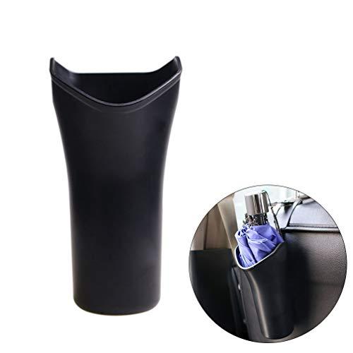 Winomo porta ombrello per automobile a forma di cestino contenitore sedile auto in nero