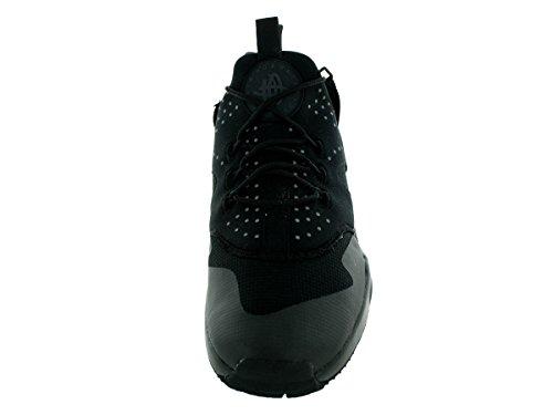 Nike Air Huarache Utility, Baskets Basses Homme, Noir (Schwarz), 44 EU Noir (Noir / Noir-Noir)