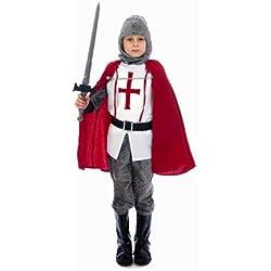 Child - Disfraz de caballero infantil, talla 3-5 años (U36 033)