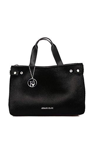 Armani Jeans 9225916a755, shoppers Noir - Schwarz (NERO 00020)