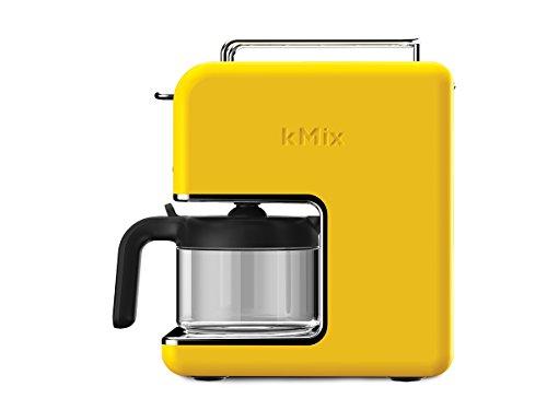 Kenwood CM 030YW New Mix Kaffeemaschine Pop Art, 0,75 Liter / 2,9 Kg/sonnengelb