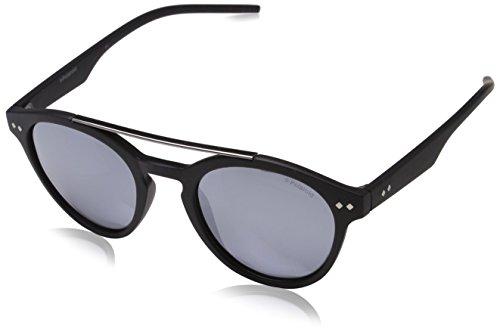 Polaroid Unisex-Erwachsene PLD 6030/S 5X 003 Sonnenbrille, Schwarz (Matt Black Grey Speckled Blue Pz), 50