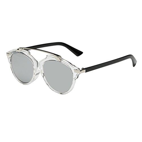 Qhgstore telaio womens uomini datati occhiali da sole all'aperto eyewear di plastica #12