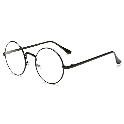MEIHAOWEI Runden Glasses Frame Optical Glass Frames Damen Herren Clear Lens Eyewear Color 4