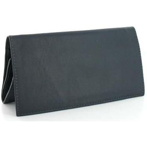 Bolsa de tabaco Peterson cuero azul
