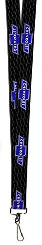 empresa-retro-del-automovil-de-chevrolet-azul-bowtie-logo-cordon