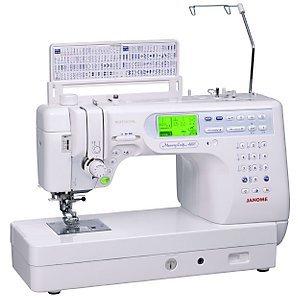 Janome 6600P - Máquina de coser de Janome