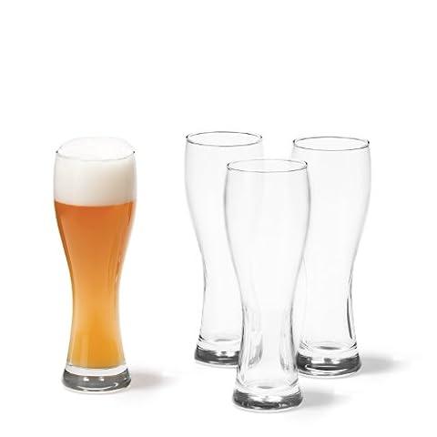 Leonardo 017413 Lot de 4 verres à bière Maxima