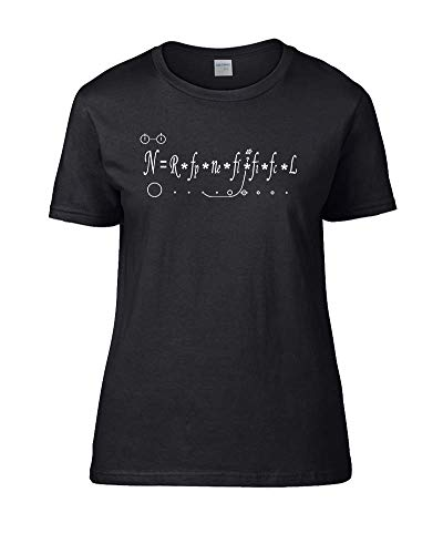 Ice-Tees Drake Equation- How Many Intelligent Civilizations in The Milky Way? Women's Female T-Shirt