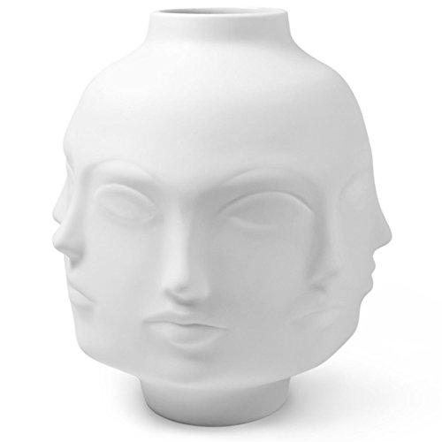 Jonathan Adler - große Vase Giant DORA MAAR - weiß - vom New Yorker Star Designer Jonathan Adler - Jonathan Adler Designer