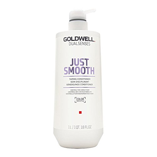 Goldwell Dualsenses Just Smooth Taming Conditioner, 1er Pack (1 x 1 l) - Feuchtigkeit Hydrating Conditioner
