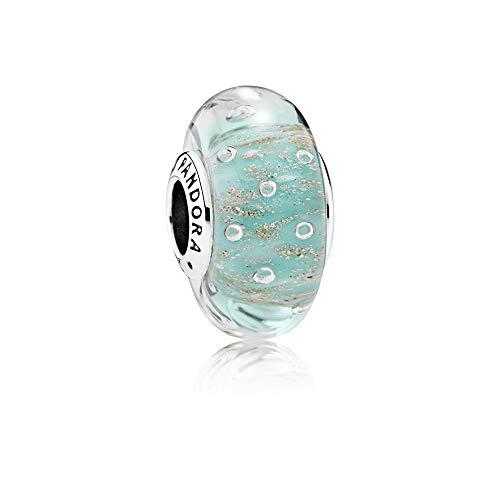 Pandora Damen -Bead Charms 925 Sterlingsilber 791669 (Gold Pandora Murano)