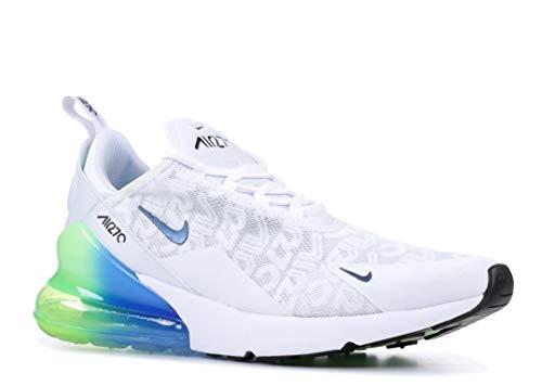 online store 69abb de6ed Nike Air MAX 270 SE - Zapatillas de atletismo para hombre, Multicolor  (White