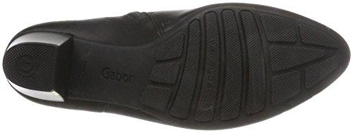 Gabor Comfort Basic, Stivali Donna Nero (57 Schwarz Micro)