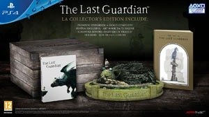 sony the last guardian collector's edition, ps4