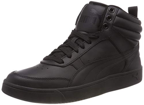Puma rebound street v2 l, sneaker alte unisex – adulto, nero black, 43 eu