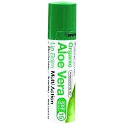 Dr.Organic Aloe Vera Balsamo Labbra 5,7 ml