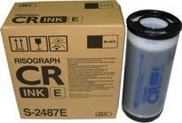 Preisvergleich Produktbild Risograph S2487 CR1610 Tinte, 800 ml, schwarz