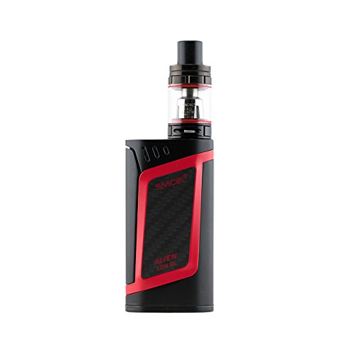 Smok Alien Kit Red – Includes Alien 220 box mod & 2ml TFV8 baby beast tank