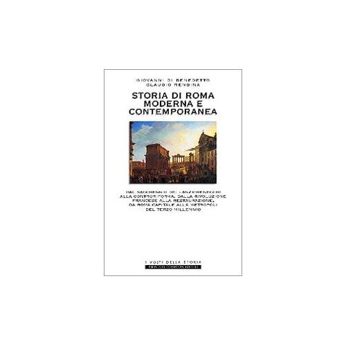 Storia Di Roma Moderna E Contemporanea