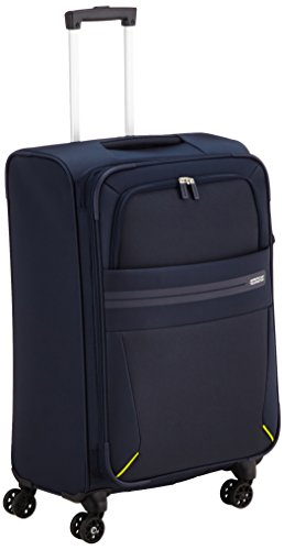 American Tourister Summer Voyager Bagaglio a mano, 68 cm, 76 litri, Midnight Blue