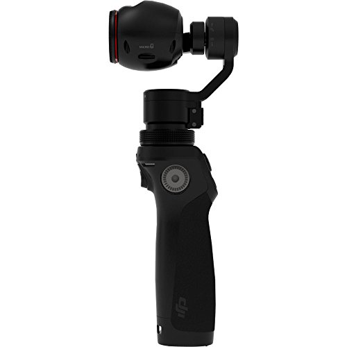 dji Ph-OSMO - Gimbal Cámara (4K, 12. 4 MP, 360°), Color Negro
