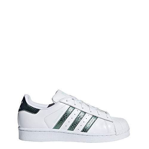 hot sale online c58b5 1ffe4 adidas Superstar J, Scarpe da Fitness Unisex-Bambini, Bianco (Blanco 000)