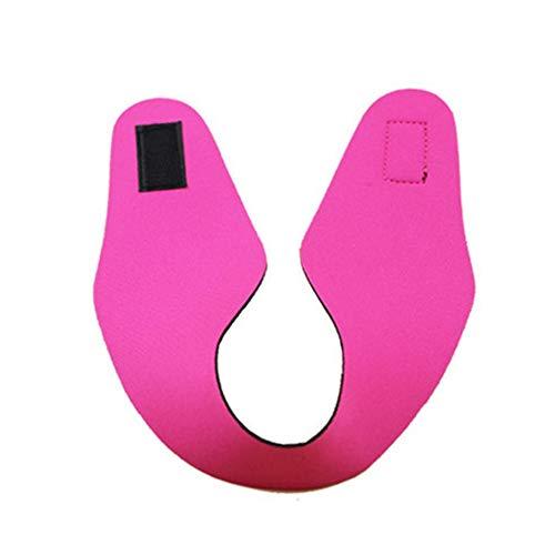 Sen-Sen Erwachsene Schwimmkopf Band Gehörschutz Wasserdicht Neoprenanzug Kopfbänder rot