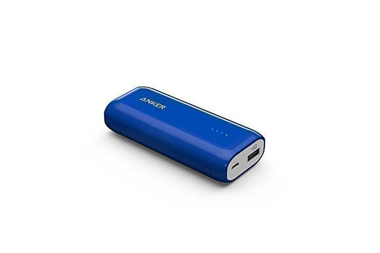 Anker Astro E1 5200mAh Ultra Compact Portable Charger  External Battery Power Bank with PowerIQ Technology for iPhone, iPad, Samsung, Nexus, HTC and More (Blue)