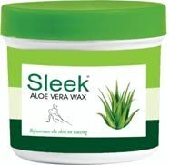 Sleek Aloe Vera Wax, 250g - Pack of 1