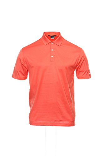 6f1b173a91fd3 Nike Tiger Woods Collection Mens Orange Striped Polo Shirt