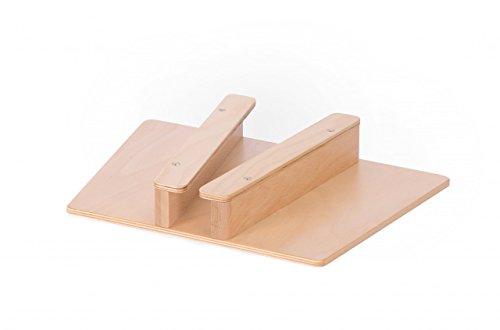Vinkelau Stiefelknecht für Groß und Klein / Material: Birke Multiplex, Buche Massiv / Oberfläche Lackiert / Länge: 25cm - Breite: 36cm / Made in Germany