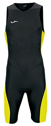 Joma  - 男士黑黄色铁人三项连身衣,黑色/黄色,S