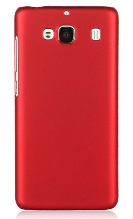 WOW Imagine(TM) Rubberised Matte Hard Case Back Cover For XIAOMI MI REDMI 2 / REDMI 2 PRIME (Maroon Wine Red)