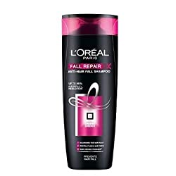 Loreal Paris New Fall Repair 3X Anti-Hairfall Shampoo (90ml) (Pack of 2)