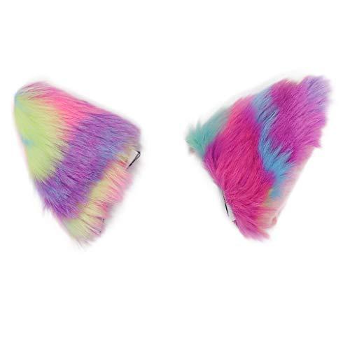rty Fancy Festival Zubehör,Frauen Stirnbänder Fox Ohr Stirnband Haarspange Plüsch Katze Ohren Haarspange ()